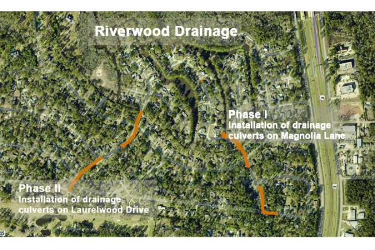 Phase I of Two-Part Drainage Improvement Project Begins to Move Forward in one Covington Area Subdivision