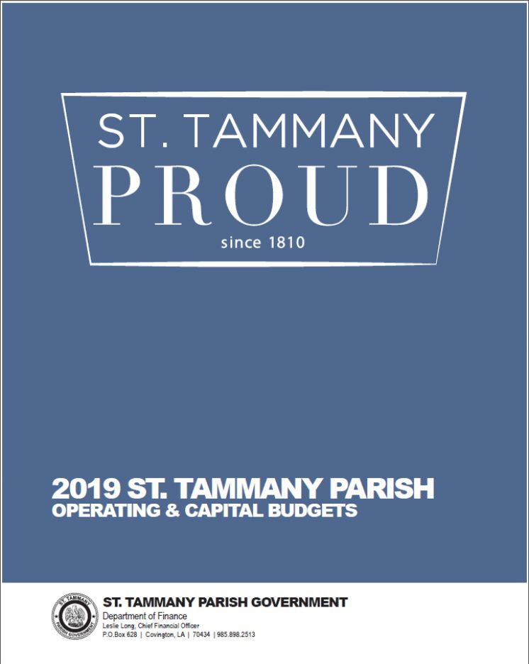 St. Tammany Parish Government Introduces 2019 Budget