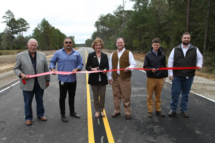 Emerald Forest Extension Roadway in Covington Area now Open