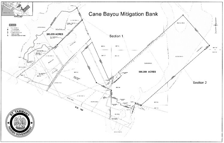 Cane Bayou Mitigation Bank will Save Money and Preserve over 1,000 Acres of Land
