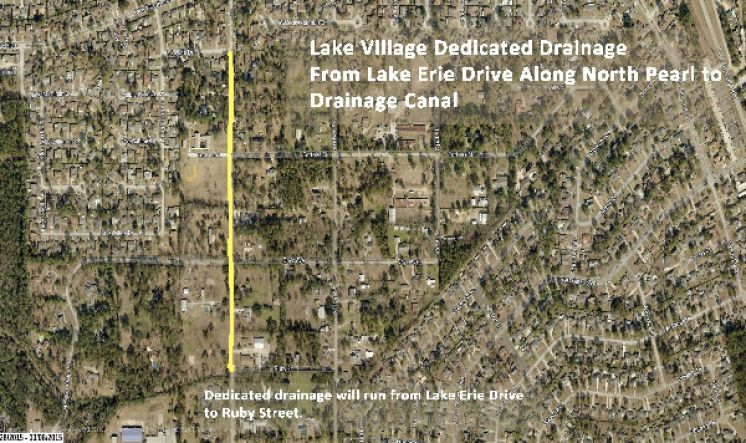 Slidell Area Road and Drainage Project That Benefits Several Residential Areas now Underway