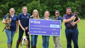 Newly Named Petco Love Invests in Lifesaving Work of St. Tammany Parish Department of Animal Services